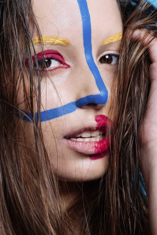 Portrait photography - Editorial beauty Camila Villalba
