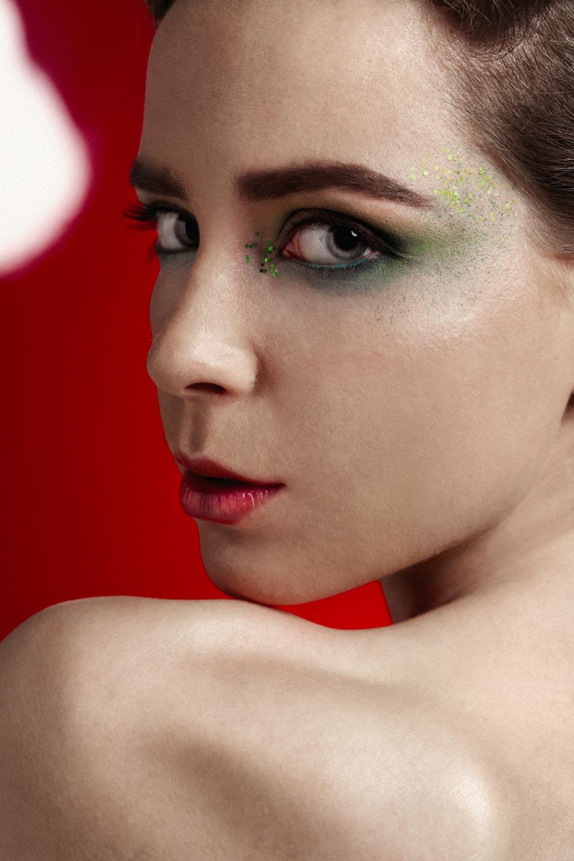 Fotografía de retrato artístico - Editorial for Feroce Magazine