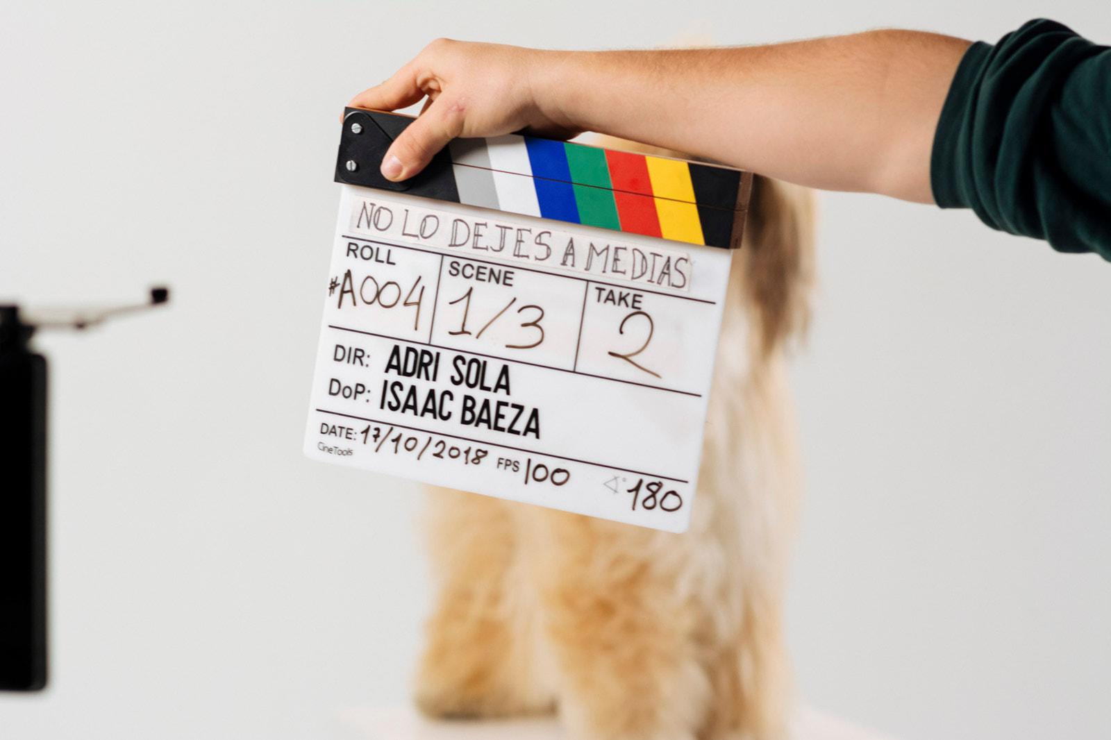 Fotógrafo corporativo - Behind the scenes – No lo dejes a medias