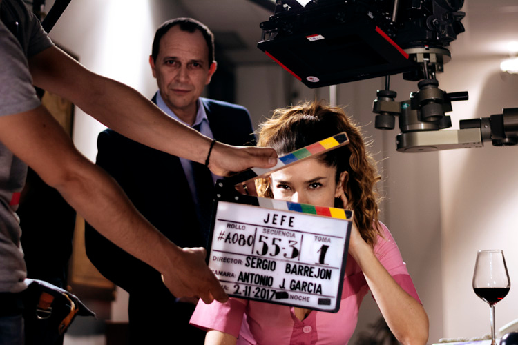 Jefe: Film - Behind the scenes